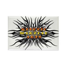 Kinetic Martial Arts Rectangle Magnet