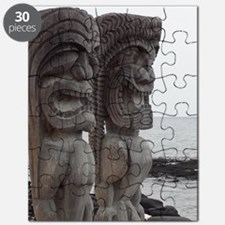 Place of Refuge Tikis - Puzzle