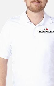 I HEART BLACKWATER  Golf Shirt