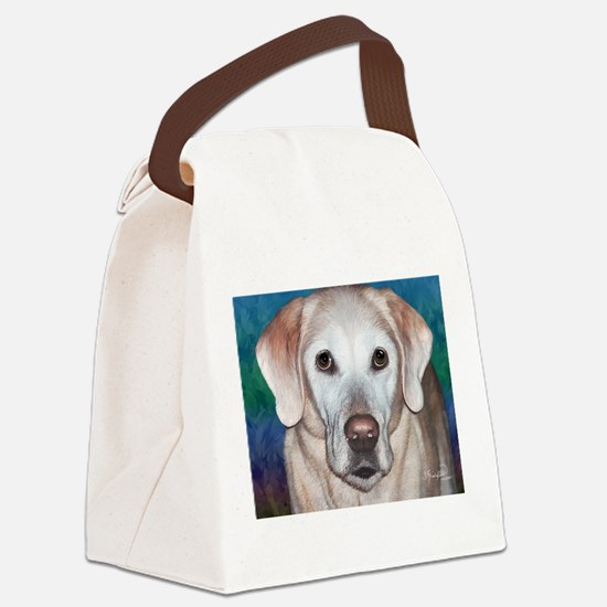Yellow Lab Canvas Lunch Bag
