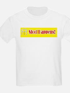 Stool Happens yellow T-Shirt