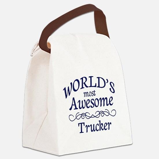 Trucker Canvas Lunch Bag