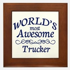 Trucker Framed Tile