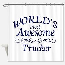 Trucker Shower Curtain