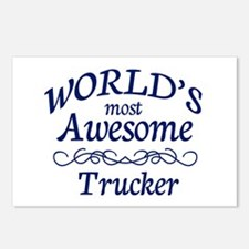 Trucker Postcards (Package of 8)