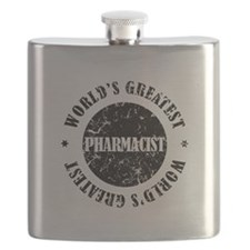 World's Greatest Pharmacist Flask