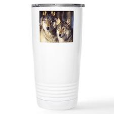 Cute Wolfs Travel Mug