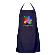 Worlds Best Mom Apron (dark)