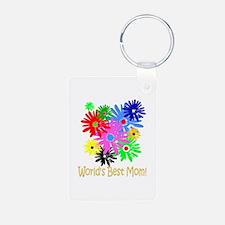 Worlds Best Mom Keychains