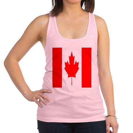 Canadian Flag SC Racerback Tank Top