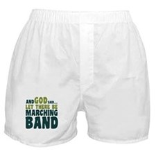 Let There Be Marching Band Boxer Shorts