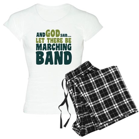 Let There Be Marching Band Women's Light Pajamas