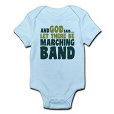Let There Be Marching Band Infant Bodysuit