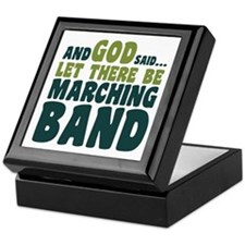 Let There Be Marching Band Keepsake Box