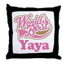 Cute Yaya Throw Pillow