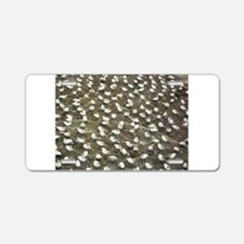 Birds on Rock Aluminum License Plate