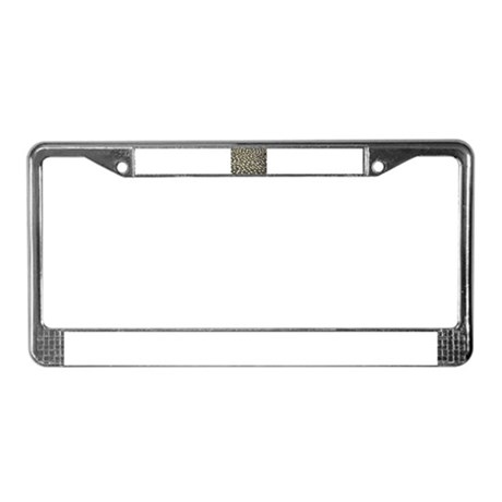 Birds on Rock License Plate Frame