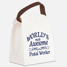 Postal Worker Canvas Lunch Bag