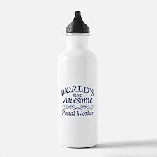 Postal Worker Water Bottle