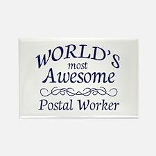 Postal Worker Rectangle Magnet (100 pack)