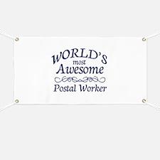 Postal Worker Banner