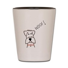 Woof Shot Glass