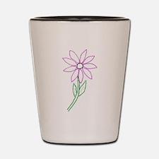 Flower Shot Glass