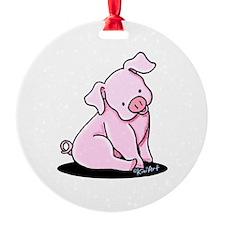 Pretty Little Piggy Ornament