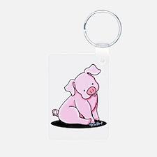 Pretty Little Piggy Keychains