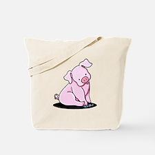 Pretty Little Piggy Tote Bag