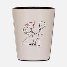 Wedding Bells Shot Glass