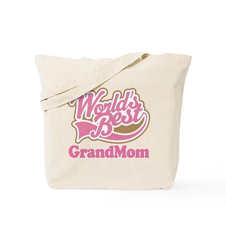 Worlds Best Grandmom Tote Bag