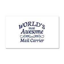 Mail Carrier Car Magnet 20 x 12