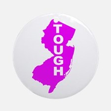 New jersey Strong Ornament (Round)