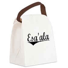 Esaala, Aged, Canvas Lunch Bag