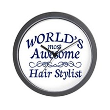 Hair Stylist Wall Clock