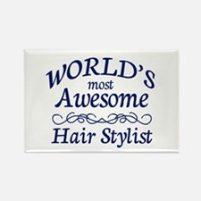 Hair Stylist Rectangle Magnet (10 pack)