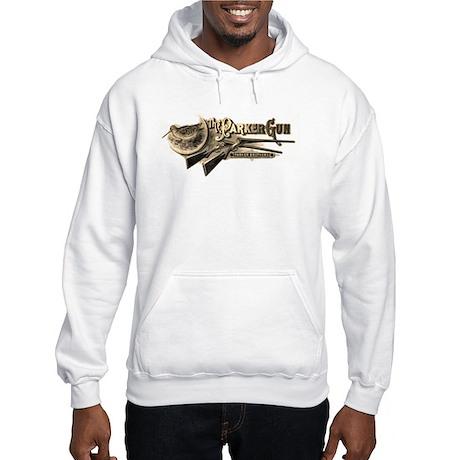 Parker Hooded Sweatshirt Ash Grey or White