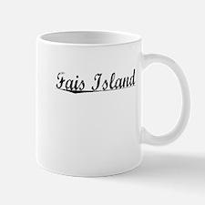Fais Island, Aged, Mug