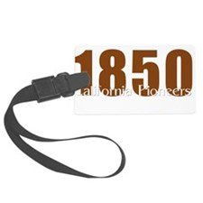 1850 California Pioneers Luggage Tag
