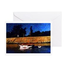 Canalboat Greeting Cards (Pk of 10)