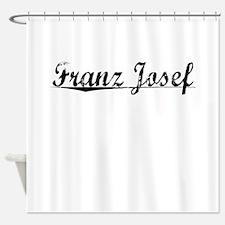 Franz Josef, Aged, Shower Curtain
