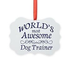 Dog Trainer Ornament