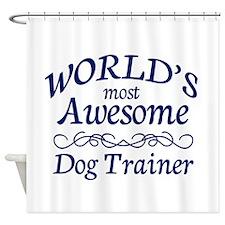 Dog Trainer Shower Curtain