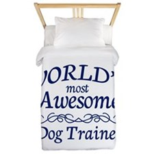 Dog Trainer Twin Duvet