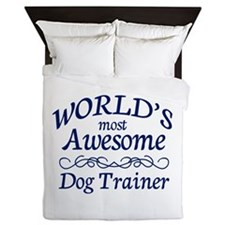 Dog Trainer Queen Duvet