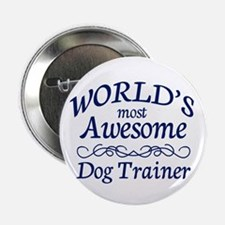 """Dog Trainer 2.25"""" Button (10 pack)"""