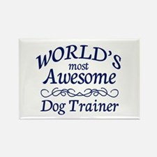 Dog Trainer Rectangle Magnet