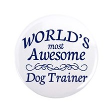 "Dog Trainer 3.5"" Button (100 pack)"