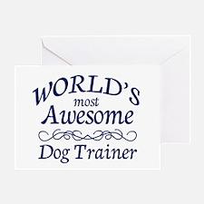 Dog Trainer Greeting Card